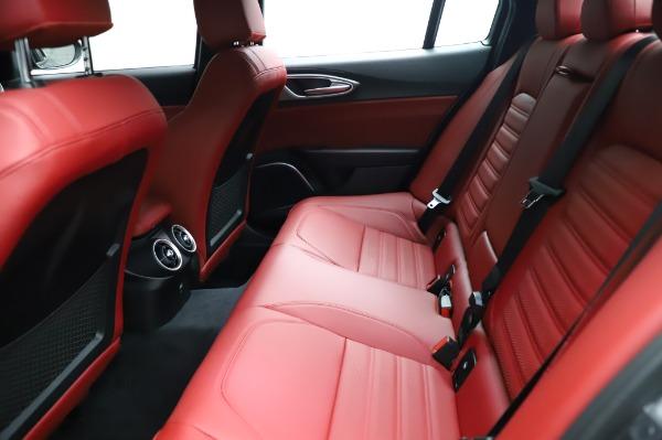 New 2021 Alfa Romeo Giulia Ti Sport for sale $54,050 at Rolls-Royce Motor Cars Greenwich in Greenwich CT 06830 18