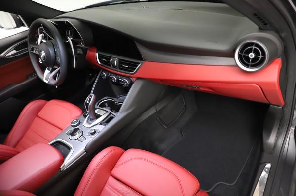 New 2021 Alfa Romeo Giulia Ti Sport for sale $54,050 at Rolls-Royce Motor Cars Greenwich in Greenwich CT 06830 21