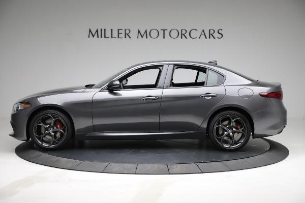 New 2021 Alfa Romeo Giulia Ti Sport for sale $54,050 at Rolls-Royce Motor Cars Greenwich in Greenwich CT 06830 3