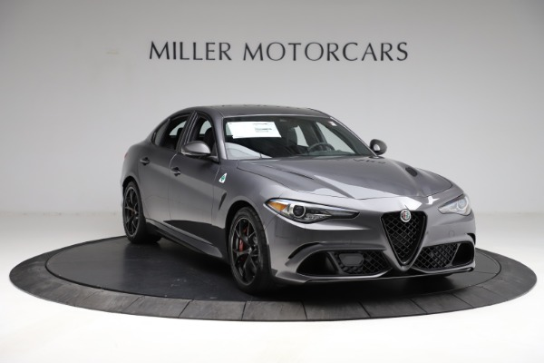 New 2021 Alfa Romeo Giulia Quadrifoglio for sale $83,200 at Rolls-Royce Motor Cars Greenwich in Greenwich CT 06830 10