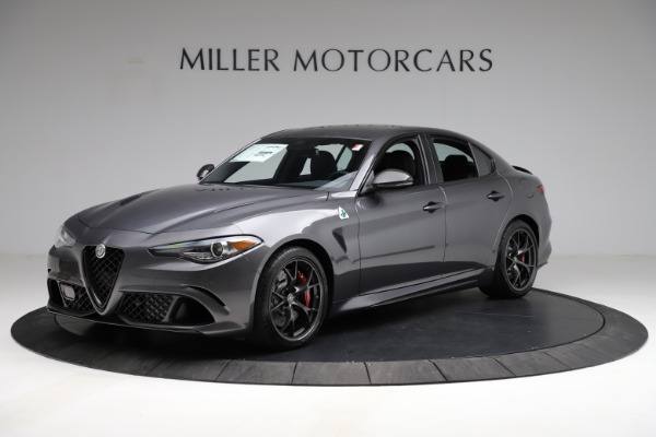 New 2021 Alfa Romeo Giulia Quadrifoglio for sale $83,200 at Rolls-Royce Motor Cars Greenwich in Greenwich CT 06830 2