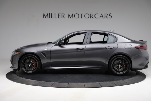 New 2021 Alfa Romeo Giulia Quadrifoglio for sale $83,200 at Rolls-Royce Motor Cars Greenwich in Greenwich CT 06830 3
