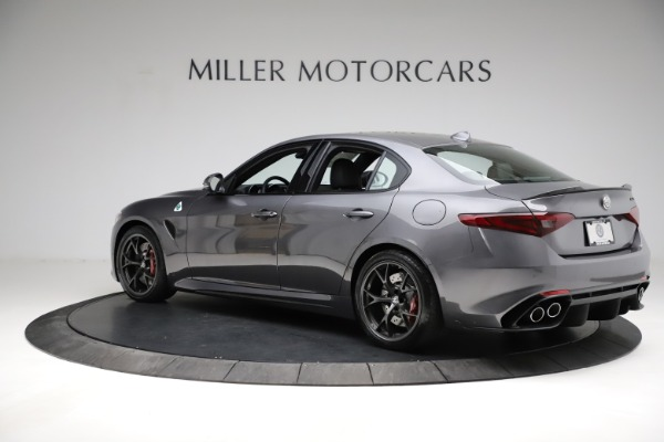 New 2021 Alfa Romeo Giulia Quadrifoglio for sale $83,200 at Rolls-Royce Motor Cars Greenwich in Greenwich CT 06830 4