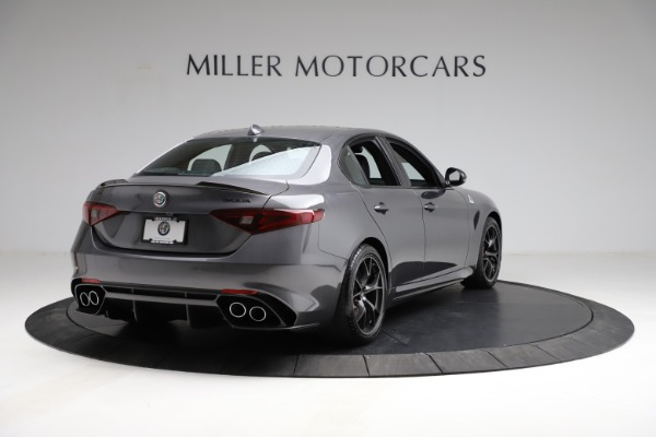 New 2021 Alfa Romeo Giulia Quadrifoglio for sale $83,200 at Rolls-Royce Motor Cars Greenwich in Greenwich CT 06830 6