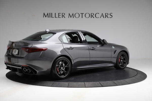 New 2021 Alfa Romeo Giulia Quadrifoglio for sale $83,200 at Rolls-Royce Motor Cars Greenwich in Greenwich CT 06830 7