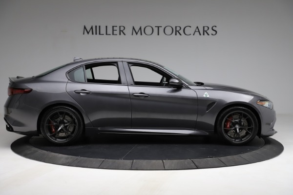 New 2021 Alfa Romeo Giulia Quadrifoglio for sale $83,200 at Rolls-Royce Motor Cars Greenwich in Greenwich CT 06830 8