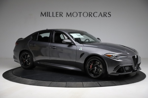 New 2021 Alfa Romeo Giulia Quadrifoglio for sale $83,200 at Rolls-Royce Motor Cars Greenwich in Greenwich CT 06830 9