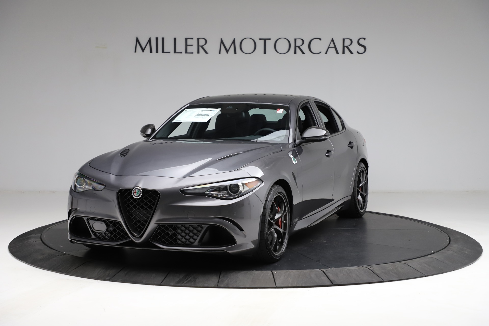New 2021 Alfa Romeo Giulia Quadrifoglio for sale $83,200 at Rolls-Royce Motor Cars Greenwich in Greenwich CT 06830 1