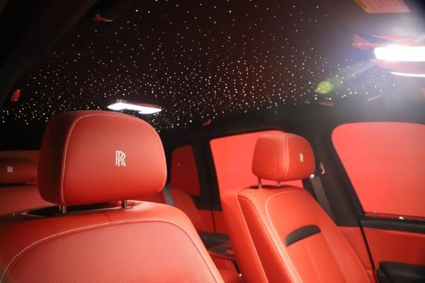 New 2021 Rolls-Royce Cullinan Black Badge for sale Sold at Rolls-Royce Motor Cars Greenwich in Greenwich CT 06830 24