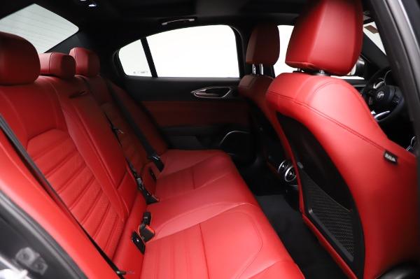 New 2021 Alfa Romeo Giulia Ti Sport for sale $54,050 at Rolls-Royce Motor Cars Greenwich in Greenwich CT 06830 24