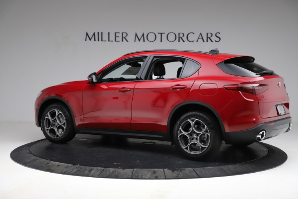 New 2021 Alfa Romeo Stelvio Sprint for sale $50,535 at Rolls-Royce Motor Cars Greenwich in Greenwich CT 06830 4