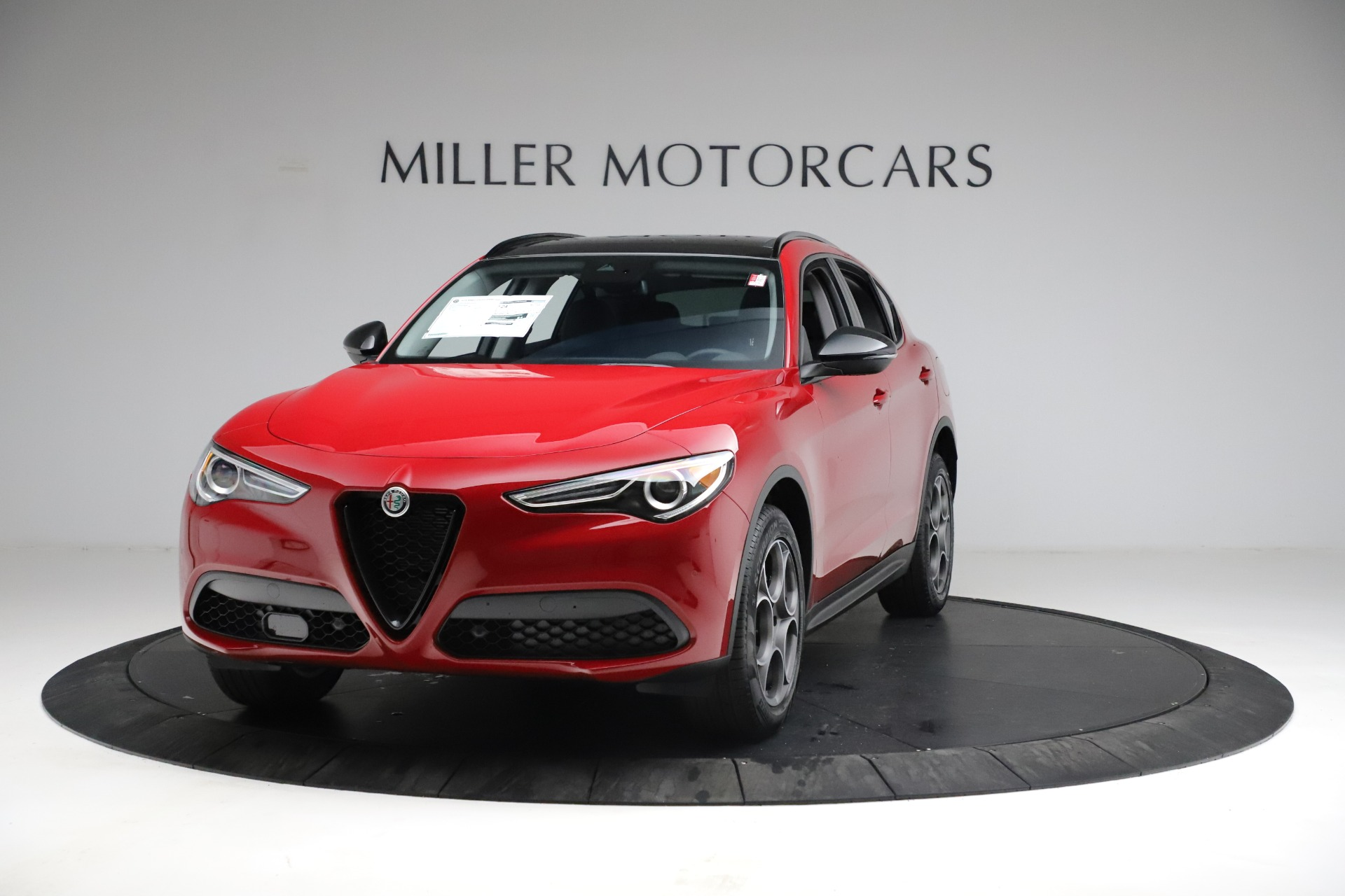New 2021 Alfa Romeo Stelvio Sprint for sale $50,535 at Rolls-Royce Motor Cars Greenwich in Greenwich CT 06830 1