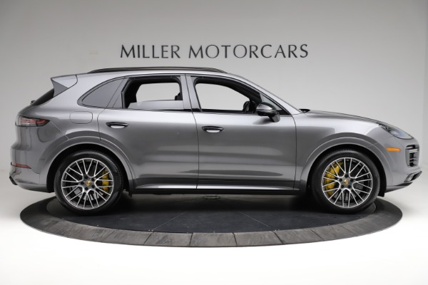 Used 2020 Porsche Cayenne Turbo for sale $145,900 at Rolls-Royce Motor Cars Greenwich in Greenwich CT 06830 10