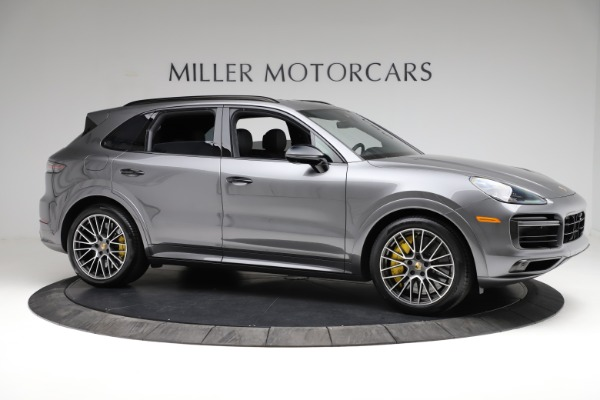Used 2020 Porsche Cayenne Turbo for sale $145,900 at Rolls-Royce Motor Cars Greenwich in Greenwich CT 06830 11