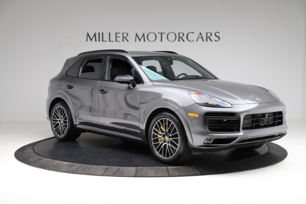 Used 2020 Porsche Cayenne Turbo for sale $145,900 at Rolls-Royce Motor Cars Greenwich in Greenwich CT 06830 12