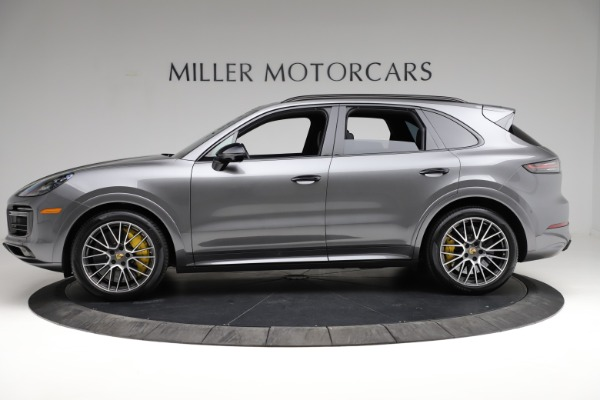 Used 2020 Porsche Cayenne Turbo for sale $145,900 at Rolls-Royce Motor Cars Greenwich in Greenwich CT 06830 3