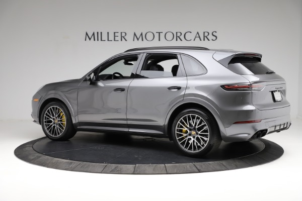 Used 2020 Porsche Cayenne Turbo for sale $145,900 at Rolls-Royce Motor Cars Greenwich in Greenwich CT 06830 4