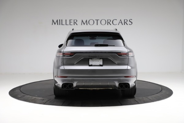 Used 2020 Porsche Cayenne Turbo for sale $145,900 at Rolls-Royce Motor Cars Greenwich in Greenwich CT 06830 6