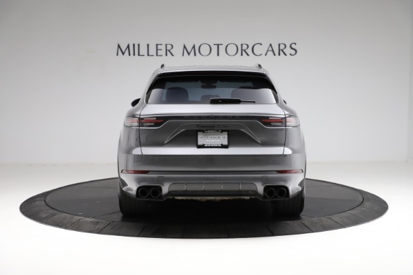 Used 2020 Porsche Cayenne Turbo for sale $145,900 at Rolls-Royce Motor Cars Greenwich in Greenwich CT 06830 7