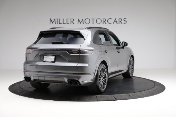 Used 2020 Porsche Cayenne Turbo for sale $145,900 at Rolls-Royce Motor Cars Greenwich in Greenwich CT 06830 8
