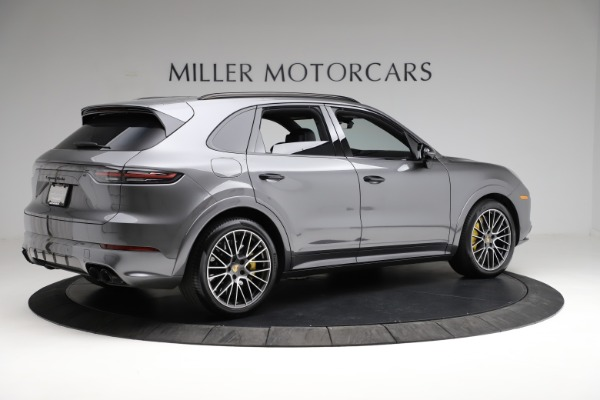 Used 2020 Porsche Cayenne Turbo for sale $145,900 at Rolls-Royce Motor Cars Greenwich in Greenwich CT 06830 9