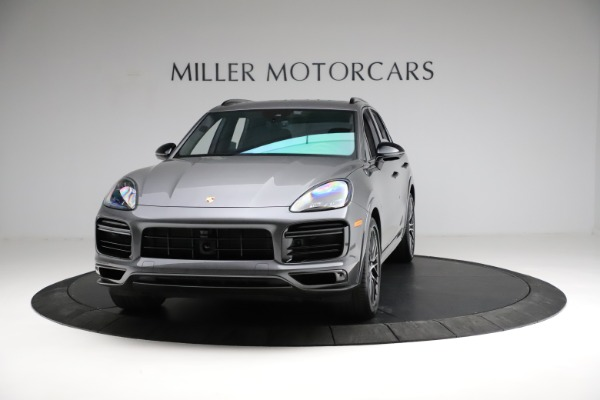 Used 2020 Porsche Cayenne Turbo for sale $145,900 at Rolls-Royce Motor Cars Greenwich in Greenwich CT 06830 1