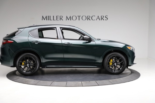 New 2021 Alfa Romeo Stelvio Ti for sale $53,650 at Rolls-Royce Motor Cars Greenwich in Greenwich CT 06830 9