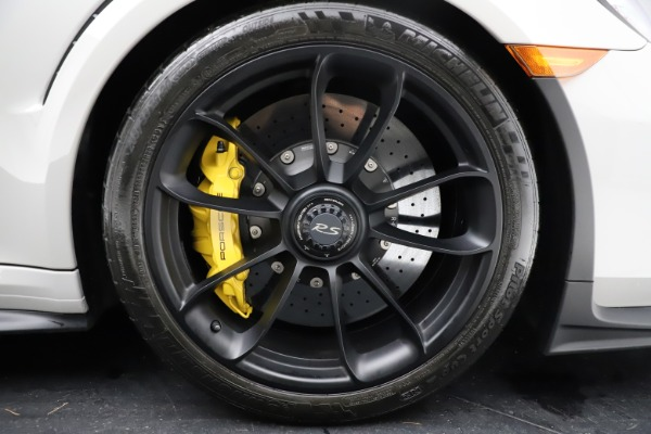 Used 2019 Porsche 911 GT3 RS for sale $249,900 at Rolls-Royce Motor Cars Greenwich in Greenwich CT 06830 22
