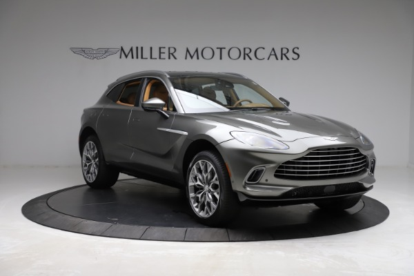 New 2021 Aston Martin DBX for sale $211,486 at Rolls-Royce Motor Cars Greenwich in Greenwich CT 06830 10