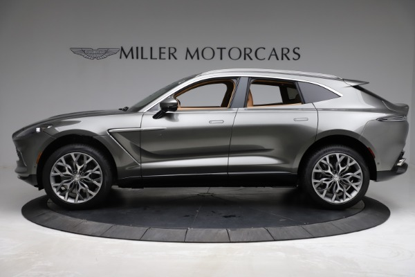 New 2021 Aston Martin DBX for sale $211,486 at Rolls-Royce Motor Cars Greenwich in Greenwich CT 06830 2