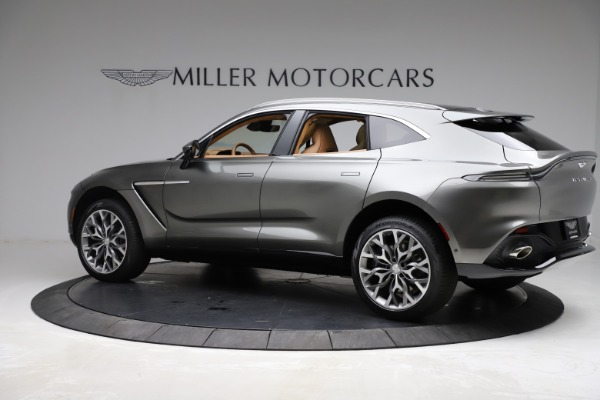 New 2021 Aston Martin DBX for sale $211,486 at Rolls-Royce Motor Cars Greenwich in Greenwich CT 06830 3