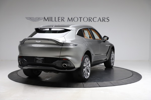 New 2021 Aston Martin DBX for sale $211,486 at Rolls-Royce Motor Cars Greenwich in Greenwich CT 06830 6