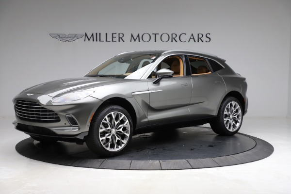 New 2021 Aston Martin DBX for sale $211,486 at Rolls-Royce Motor Cars Greenwich in Greenwich CT 06830 1