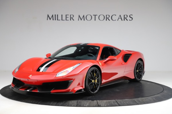 Used 2020 Ferrari 488 Pista for sale Call for price at Rolls-Royce Motor Cars Greenwich in Greenwich CT 06830 2