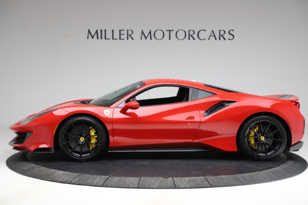 Used 2020 Ferrari 488 Pista for sale Call for price at Rolls-Royce Motor Cars Greenwich in Greenwich CT 06830 3