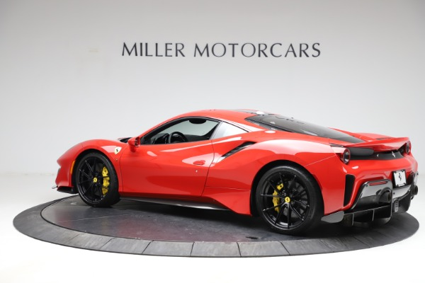 Used 2020 Ferrari 488 Pista for sale Call for price at Rolls-Royce Motor Cars Greenwich in Greenwich CT 06830 4
