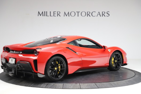 Used 2020 Ferrari 488 Pista for sale Call for price at Rolls-Royce Motor Cars Greenwich in Greenwich CT 06830 8