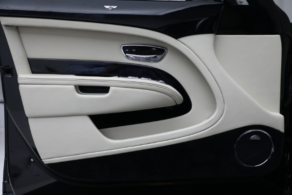 Used 2017 Bentley Mulsanne for sale $214,900 at Rolls-Royce Motor Cars Greenwich in Greenwich CT 06830 16