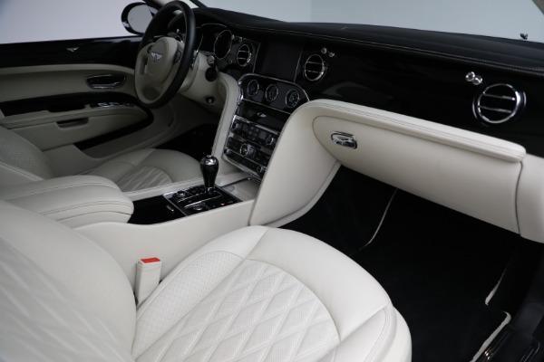 Used 2017 Bentley Mulsanne for sale $214,900 at Rolls-Royce Motor Cars Greenwich in Greenwich CT 06830 25