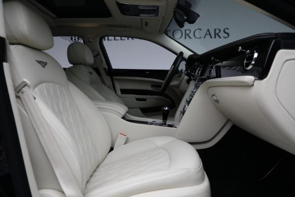 Used 2017 Bentley Mulsanne for sale $214,900 at Rolls-Royce Motor Cars Greenwich in Greenwich CT 06830 26