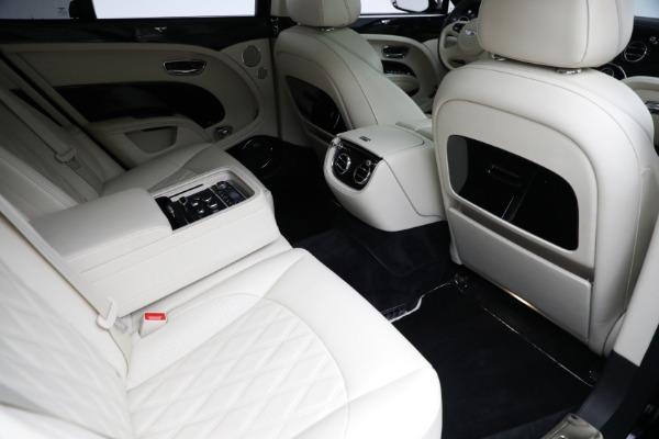 Used 2017 Bentley Mulsanne for sale $214,900 at Rolls-Royce Motor Cars Greenwich in Greenwich CT 06830 28