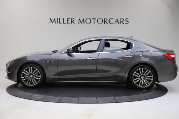 Used 2018 Maserati Ghibli SQ4 GranLusso for sale $55,900 at Rolls-Royce Motor Cars Greenwich in Greenwich CT 06830 3