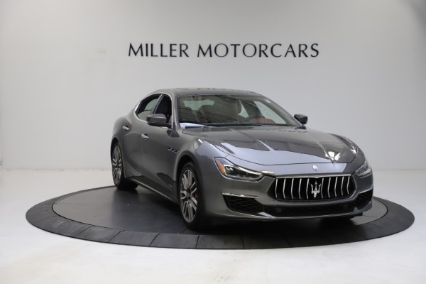 Used 2018 Maserati Ghibli SQ4 GranLusso for sale $55,900 at Rolls-Royce Motor Cars Greenwich in Greenwich CT 06830 6