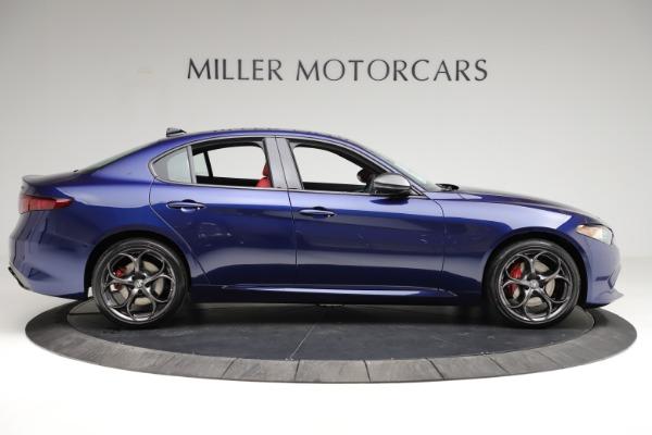New 2021 Alfa Romeo Giulia Ti Sport for sale $54,050 at Rolls-Royce Motor Cars Greenwich in Greenwich CT 06830 10