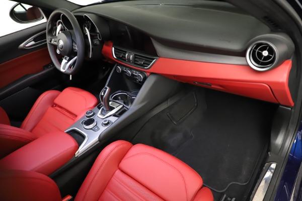 New 2021 Alfa Romeo Giulia Ti Sport for sale $54,050 at Rolls-Royce Motor Cars Greenwich in Greenwich CT 06830 19