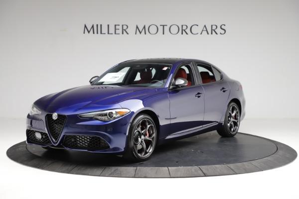 New 2021 Alfa Romeo Giulia Ti Sport for sale $54,050 at Rolls-Royce Motor Cars Greenwich in Greenwich CT 06830 2