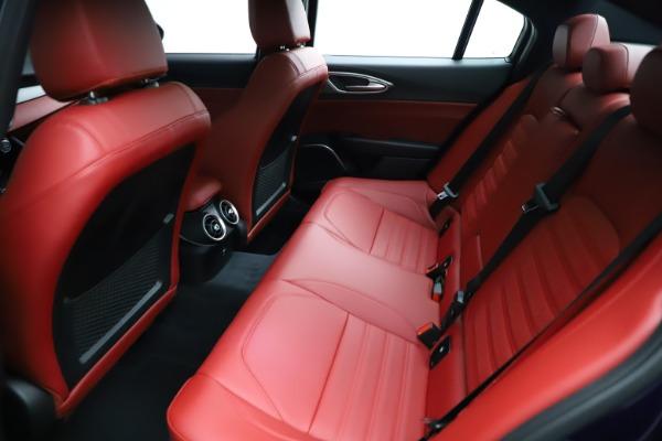 New 2021 Alfa Romeo Giulia Ti Sport for sale $54,050 at Rolls-Royce Motor Cars Greenwich in Greenwich CT 06830 23