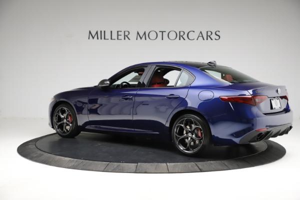 New 2021 Alfa Romeo Giulia Ti Sport for sale $54,050 at Rolls-Royce Motor Cars Greenwich in Greenwich CT 06830 4