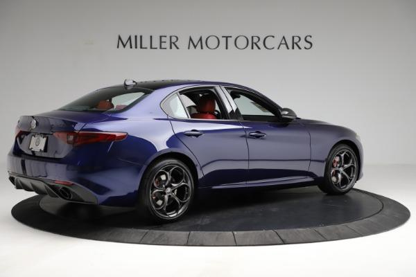 New 2021 Alfa Romeo Giulia Ti Sport for sale $54,050 at Rolls-Royce Motor Cars Greenwich in Greenwich CT 06830 9