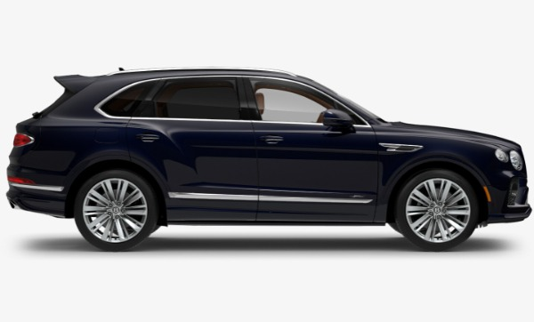 New 2021 Bentley Bentayga Speed for sale Call for price at Rolls-Royce Motor Cars Greenwich in Greenwich CT 06830 2